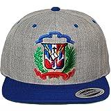 Escudo Republica Dominicana. Red Yupoong Classic Snapback Cap
