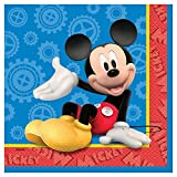 Unique Mickey Mouse Luncheon Napkins, 16-Count