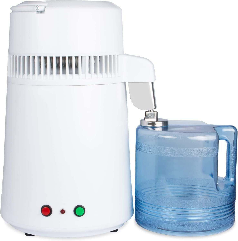 Water Distiller Countertop 4 Liter Distilling Pure Water Machine For Home Office Countertop Table Desktop