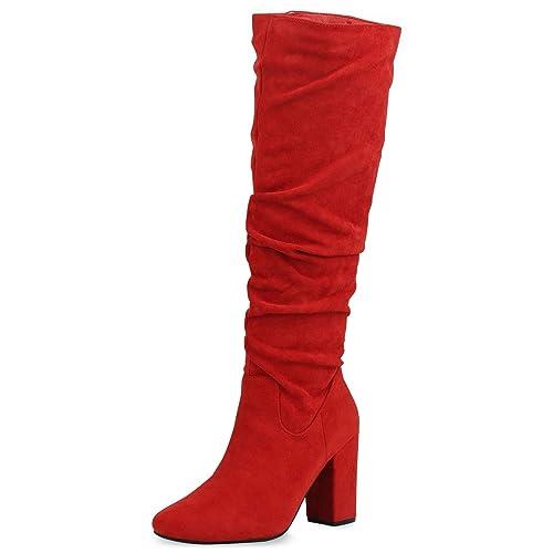 Vita Klassische Stiefel Mit Blockabsatz Damen Scarpe 5LAc3RqS4j