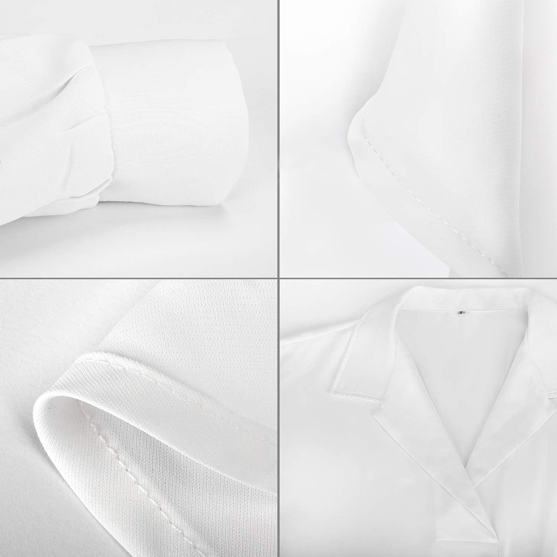Camicia Copricostume Donna Mare Chiffon Camicetta Abito Beachwear Vestiti Estate Bikini Cover Up