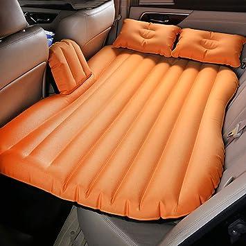 Auto Aufblasbares PVC Luftmatratze Luftbett Rücksitz Bett Camping Mit Luftpumpe