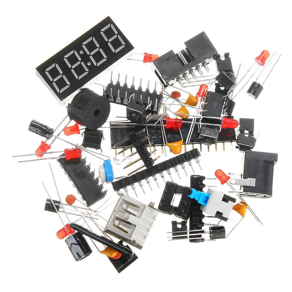 C51 MCU Development Board DIY Learning System Board Experimenter Kit Module