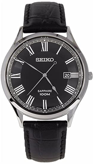 Reloj Seiko Neo Classic Sgeg99p1 Hombre Negro