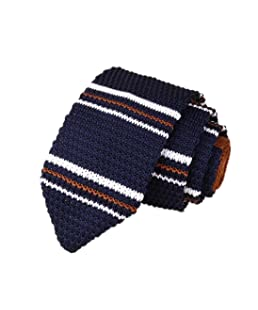 Cravate Homme MinceColoré(TM) Cravate en tricot /14 Couleur (CouleurB)