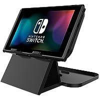 Soporte para Nintendo Switch, JOTO Porta Plegable con Múltiples Ángulos para Nintendo Switch 2017 -Negro