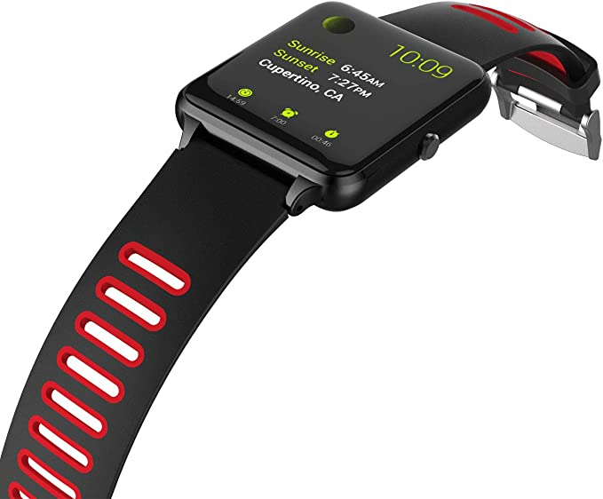 PRIXTON - Smartwatch/Reloj Inteligente con Pulsómetro, Monitor de ...