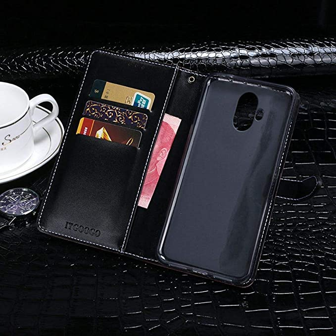 Amazon.com: Case for Doogee Mix Lite, PU Leather Stand ...