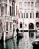 Venice Italy Print Gondola Photograph Travel photography