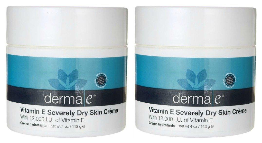 DERMA E Deep Moisturizing Formula, Vitamin E 12,000 IU Cream, 4 Oz 0445