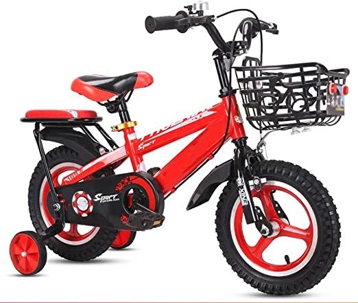 YUMEIGE Bicicletas Bicicleta para niños, niñas, niños Ruedas de ...