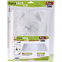 Fixo Cover 01014400-Pack de 5 Forra Fácil Eco con solapa ajustable de 295 x 520 mm
