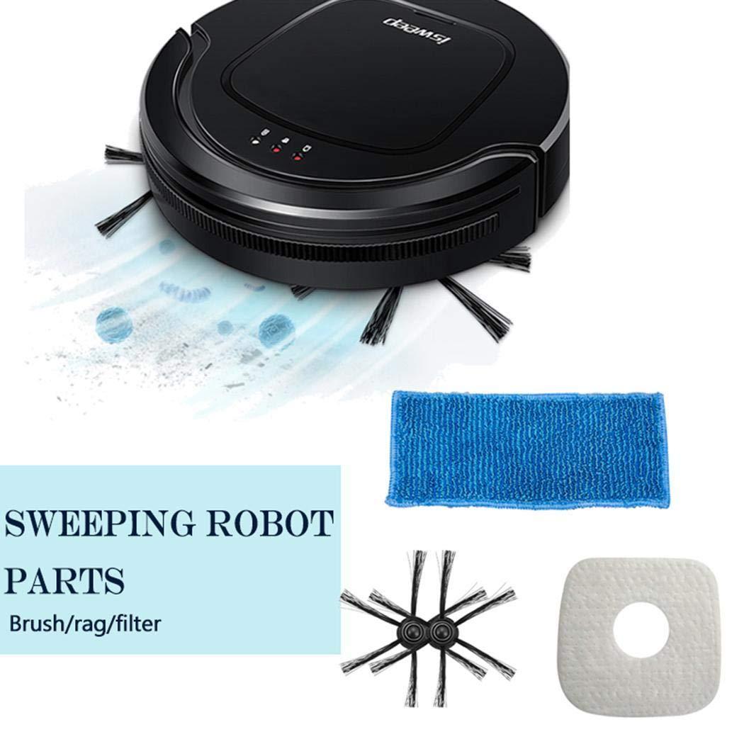 Fenido - Kit de Repuesto para Robot Aspirador S550, Seitenbürsten: Amazon.es: Jardín