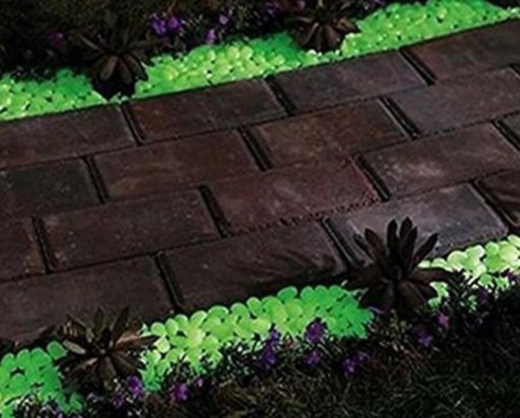 ZHJZ® - Piedras luminosas para adornos de yarda, pecera, decoración ...