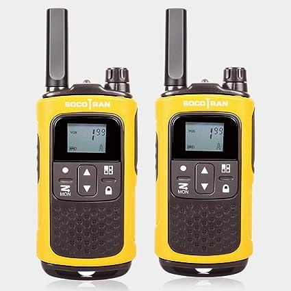 SOCOTRAN PMR446 Sin Licencia Radio de jamón Walkie Talkie ...