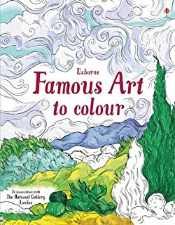 Famous Art To Colour Patterns