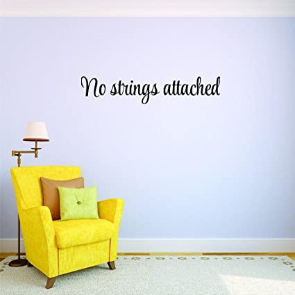 x attached art strings No