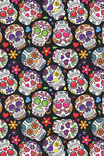Halloween Event 07 (Day Of The Dead Pattern | Sugar Skull Santa Muerte 07: Blank Lined Journal for Day Of The Dead)