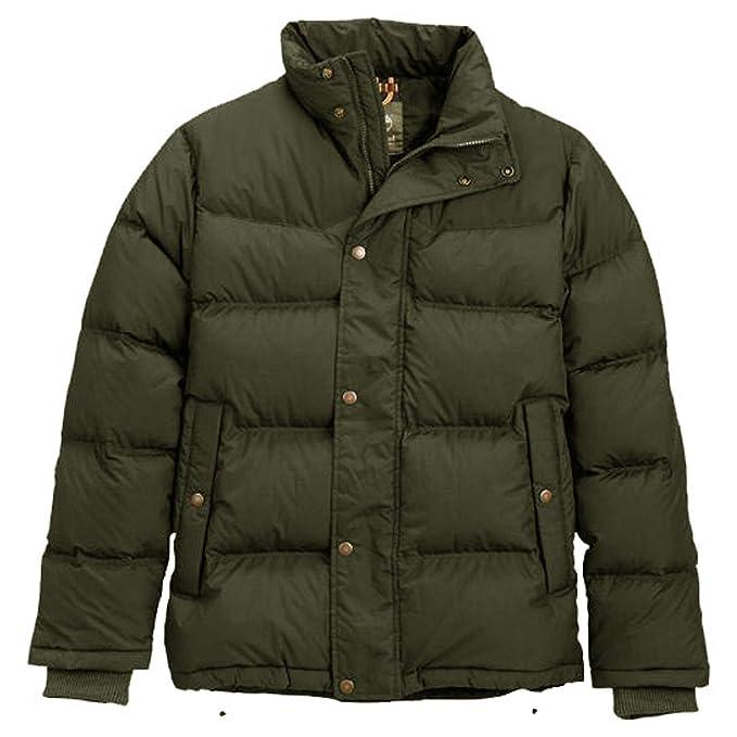 Timberland chaqueta para hombre GOOSE Mountain Eye J (M, Khaki): Amazon.es: Ropa y accesorios