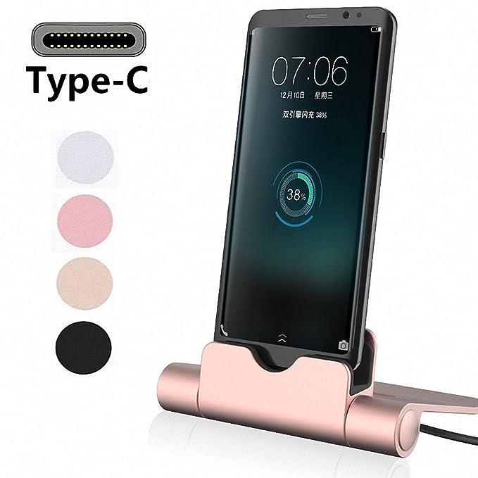 G-Hawk® Accessories compatible with Xiaomi PocoPhone F1 Estación de carga del cargador USB C, Play Dock Tipo C Estación de carga de sincronización de ...