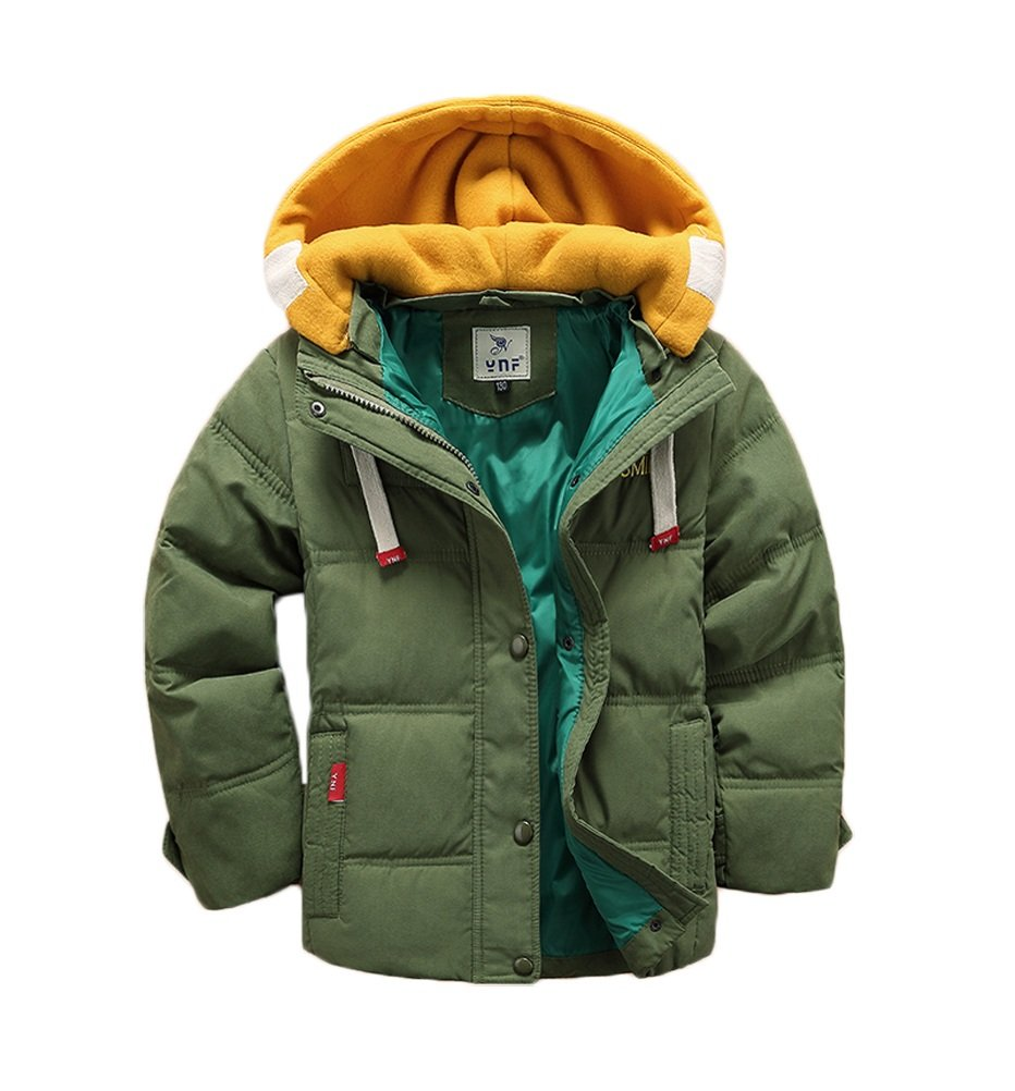 Vinmin ValentinA Kids Winter Latest Thicken Hooded Jacket Warm Quilted Coat Outdoor Cool Boys Girls