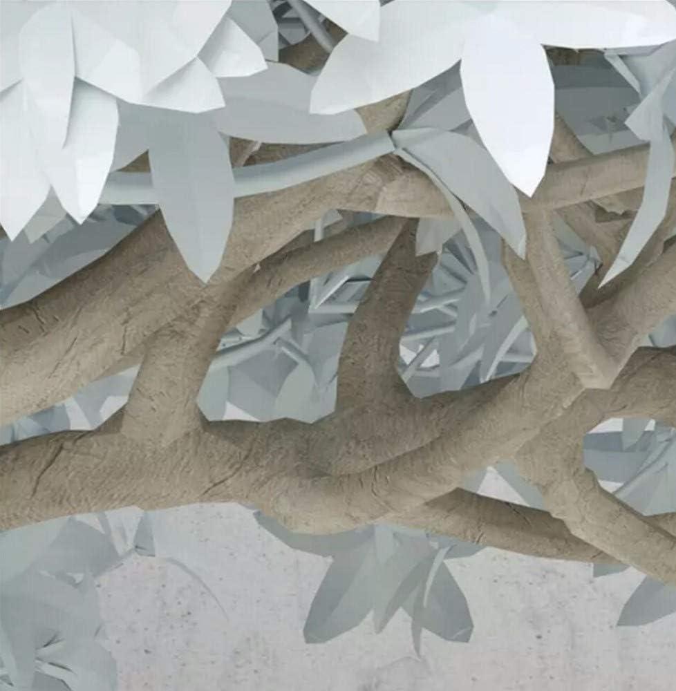 Papier Peint 3D Arbre Cr/éatif Simple Nordique Moderne Papier Peint Intiss/é D/écoration Murale