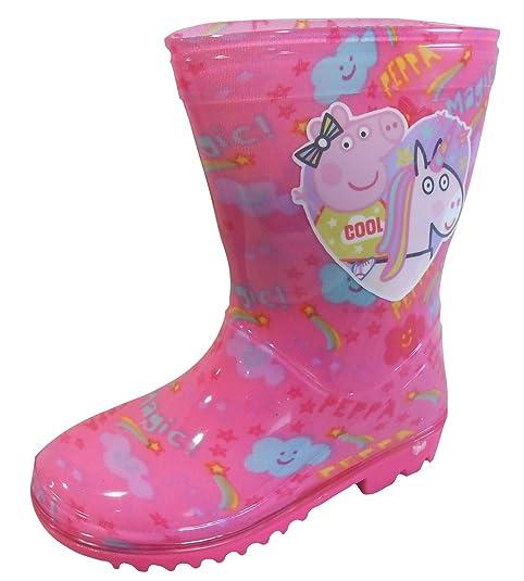 Peppa Pig Girls Wellington Bebés Botas de Lluvia EU 22