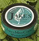 Jake's Mint Chew Wintergreen, 5 Pack, Tobacco & Nicotine Free!