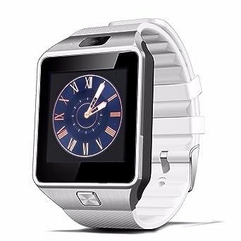 Fantime Relojes Inteligentes Smartwatches Bluetooth Soporte SIM y la Tarjeta del TF para Samsung S5 /