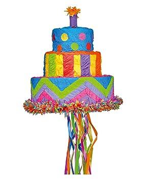Horror-Shop Tarta De Cumpleaños De Piñata 30cm: Amazon.es ...