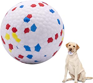 Ball for Dogs Durable Indestructible Dog Balls Bite Resistant High Elasticity Interactive Dog Toys Balls Dog Chew Toy for Large Dogs, Medium & Small Dogs