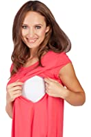 Savi Mom Maternity & Nursing Pocket T-Shirt Top with Easy Breastfeeding Openings