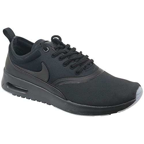 finest selection ecc3a 886a6 Nike Women s Air Max WMNS Thea Premium 848279-005 Trainers, Multicoloured ( Black 001), 4 UK  Amazon.co.uk  Shoes   Bags