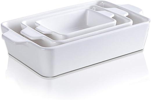 Ceramic Glaze Bakeware Set | Non-stick Bread Baking Pans