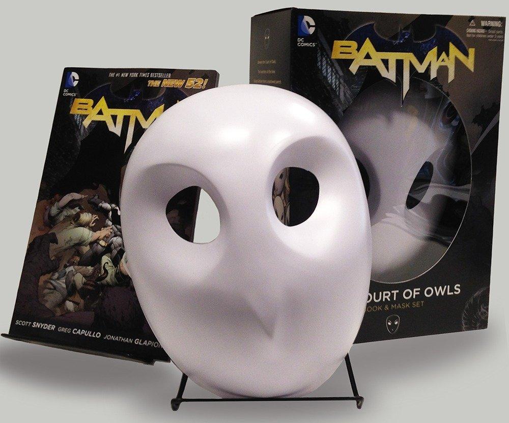 Batman The Court Of Owls Mask And Book Set The New 52 Batman The New 52 9781401242855 Snyder Scott Capullo Greg Books
