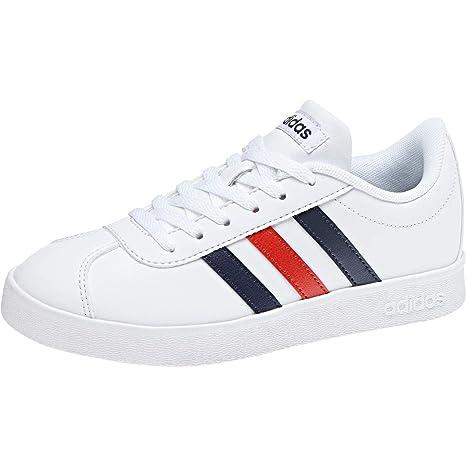 Vl Bambini Unisex Scarpe Bianco Tennis Adidas 2 ftwwht Court 0 Da R7Zdx