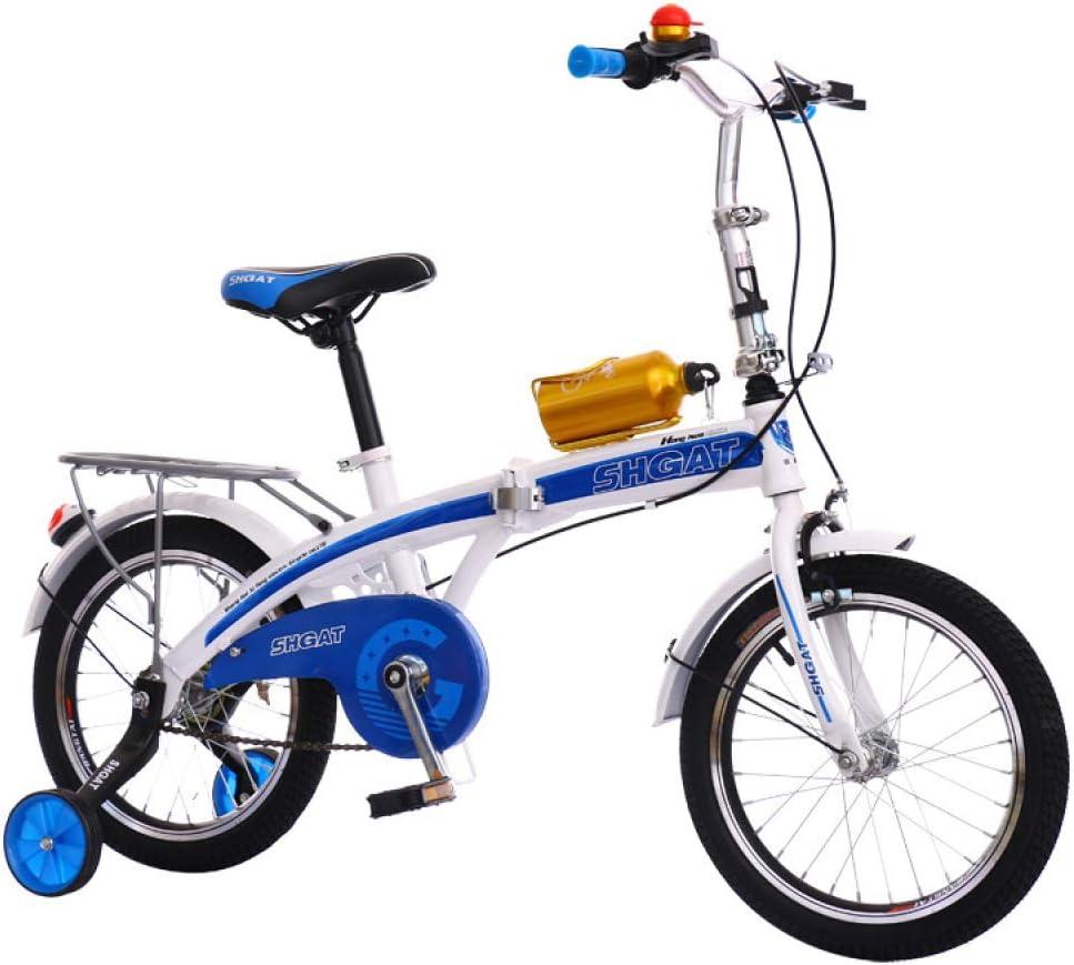 WY-Tong Bicicleta Infantil Bicicletas Infantiles Niño y niña Coche luz Bicicleta de montaña niño Bicicleta Plegable: Amazon.es: Deportes y aire libre