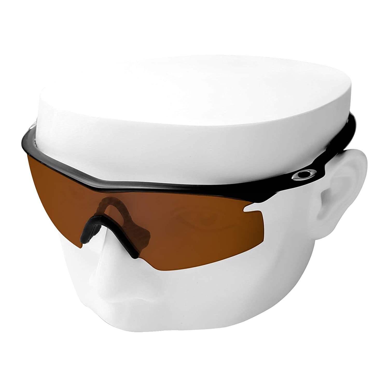 320cfe147b Amazon.com  OOWLIT Replacement Lenses Compatible with Oakley M Frame Strike  Sunglass Brown Non-polarized  Clothing