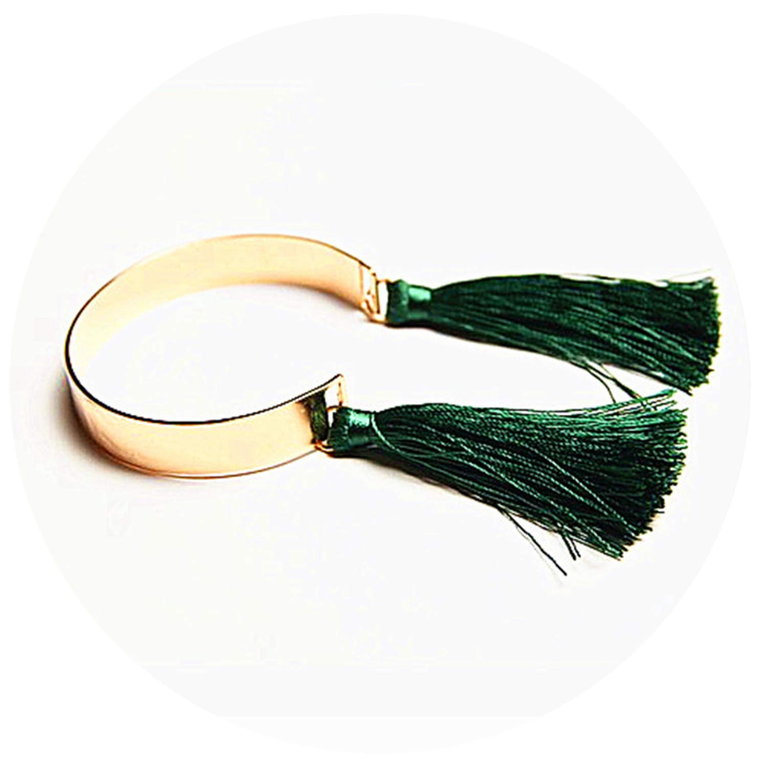 ladies and green fringed beautiful Bracelet can be fine-tuning 6.5cm,green
