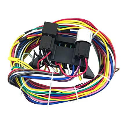 Astonishing Toogoo 12 Circuit Universal Wiring Harness Muscle Car Hot Rod Street Wiring Cloud Staixuggs Outletorg