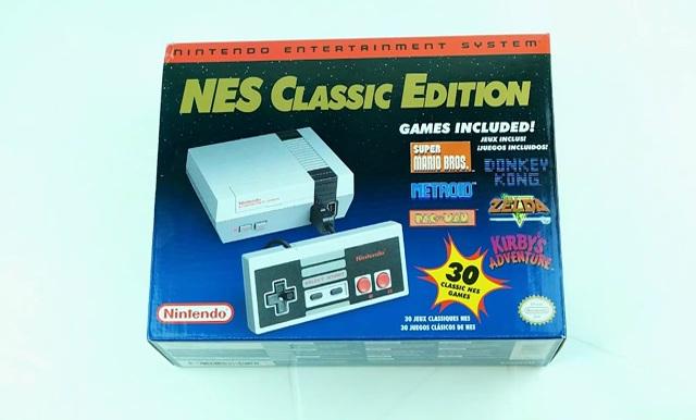 Nintendo Nes Classic Edition Unboxing Original Comparison A