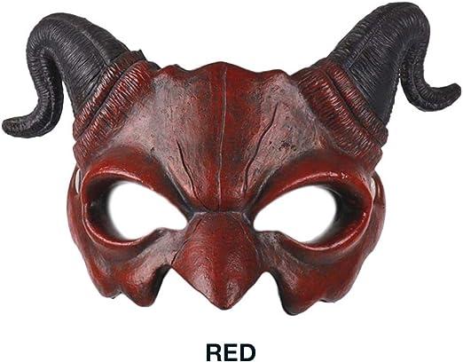 MODGS Demonio Cabra Hombre la Media mascarilla Halloween mscara