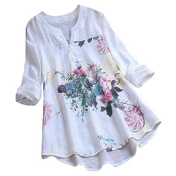 Sommer Damen Frauen Kurzarm Baggy Freizeit T-Shirt Tops Bluse Übergröße S-6XL