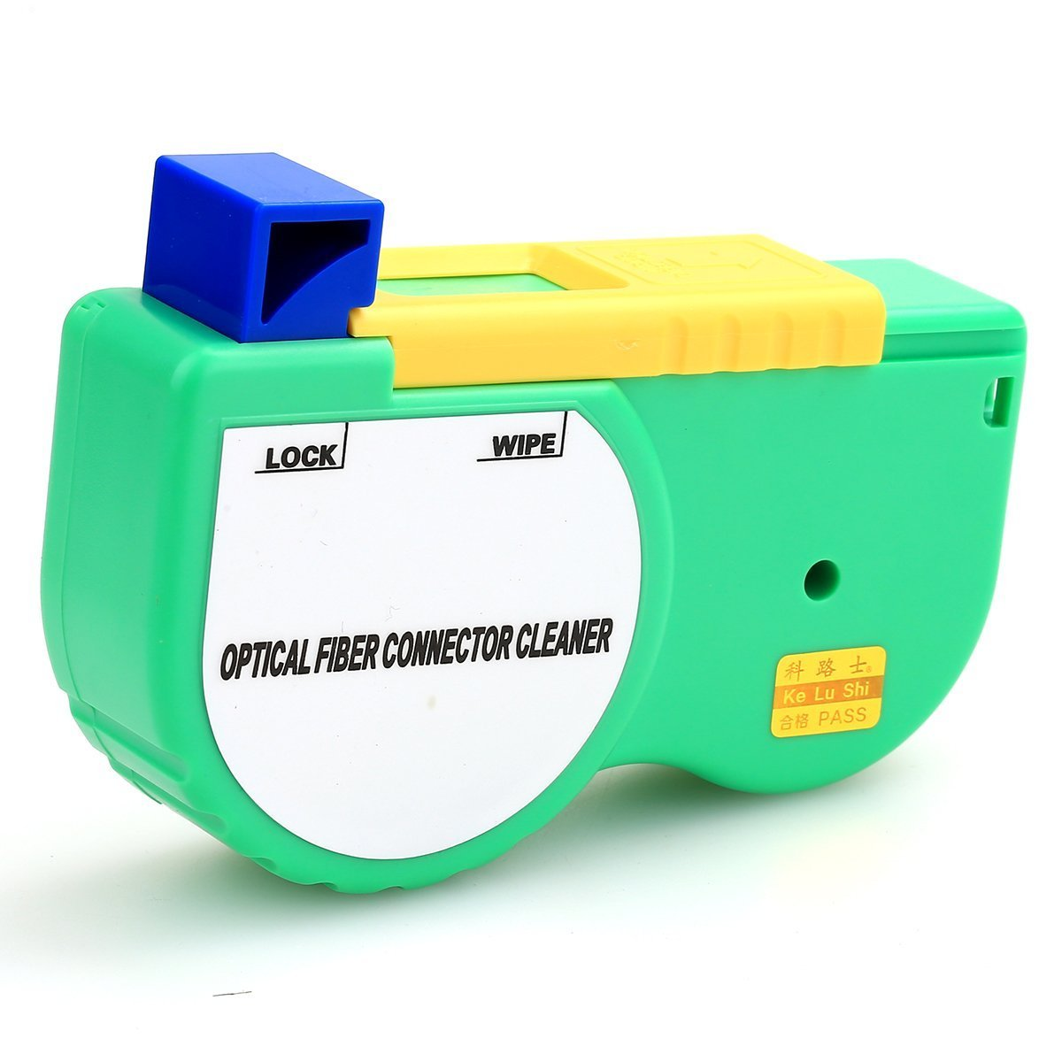 Fiber Optic Cleaner for SC, FC, St, MU, LC, MPO, MT, MTRJ (w/o pins) connectors, Tape Cleaner