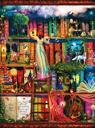 Treasure Hunt Bookshelf 1000 pc Jigsaw Puzzle