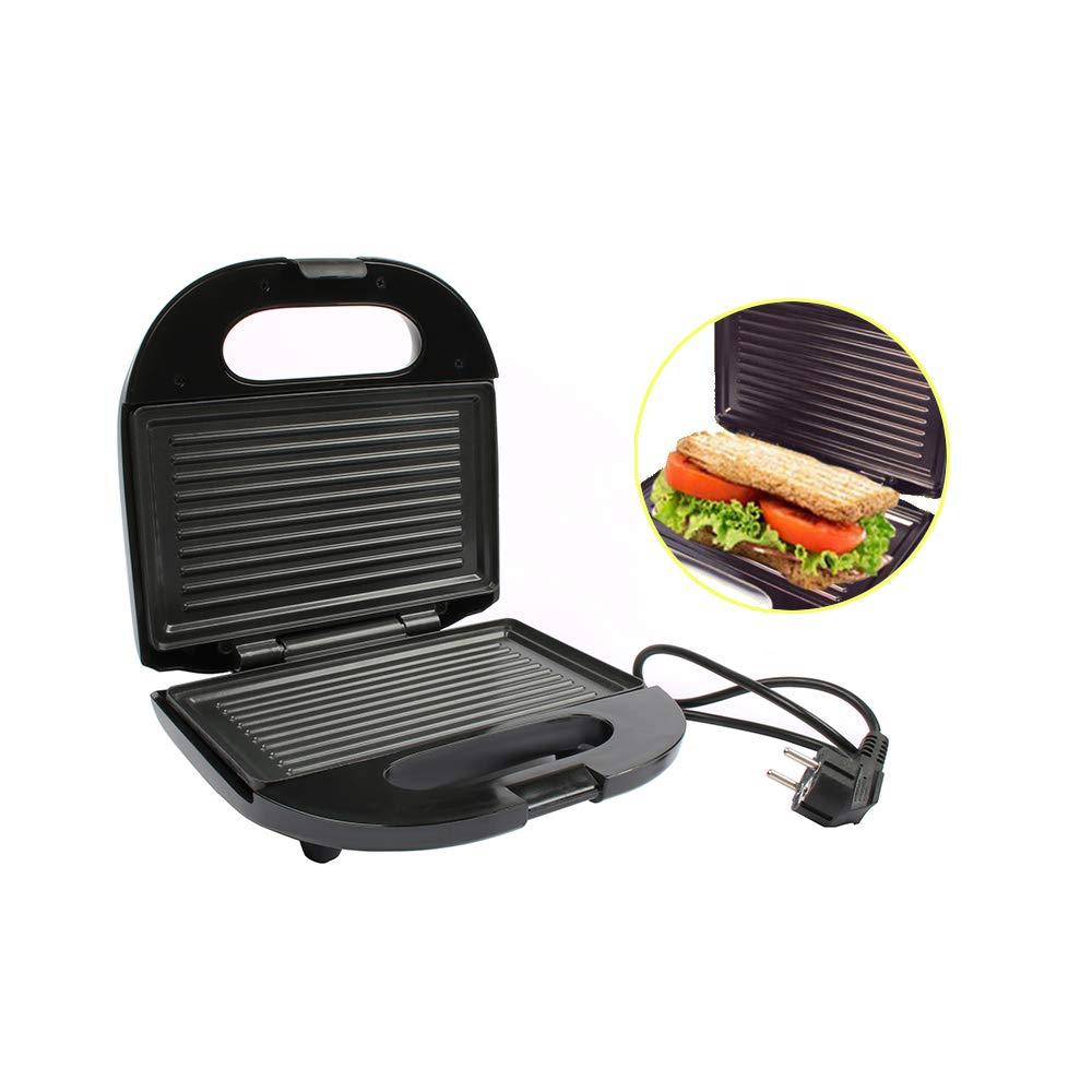 Multifunctional Electric Mini Sandwich Makers grilling Panini plate Waffle toaster breakfast machine barbecue oven EU plug