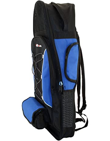 PROMATE Backpack Style Bag For Mask, Snorkel, & Fins Scuba Diving Gear Snorkeling Surfing