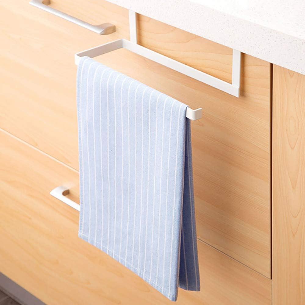 Bastidor de Toallas de Papel Soporte de Envoltura de pl/ástico Soporte de Rollo de Papel para sostener Papel de Aluminio Papel de Cocina Envoltura de pl/ástico Kshzmoto Portarrollo Cocina