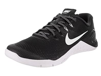 best website a3403 8ab42 Nike Men s Metcon 4 Fitness Shoes, (Black White 003) ...