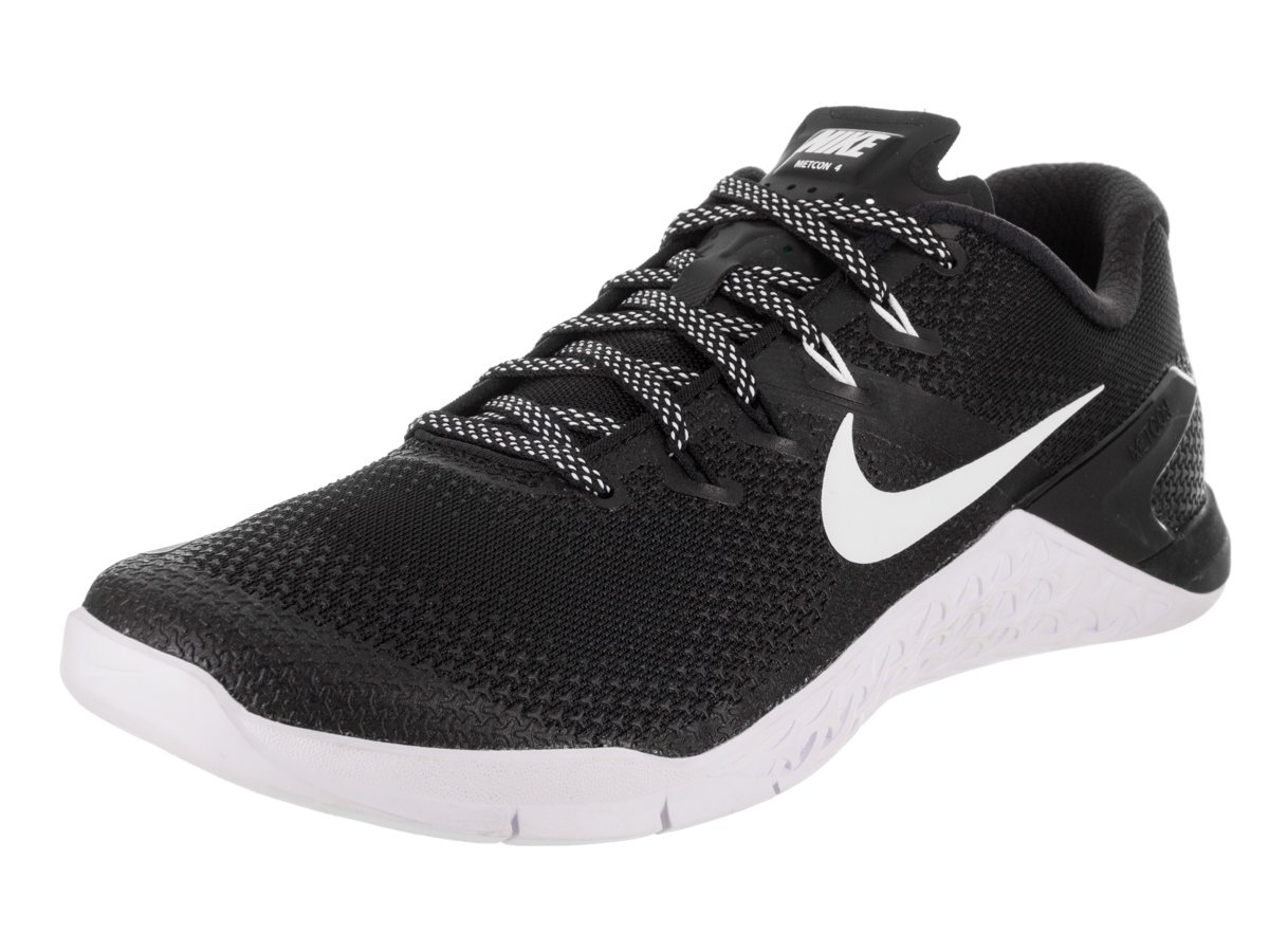 47da41691f3 Galleon - Nike Men s Metcon 4 Training Shoe Black White Size 12 M US